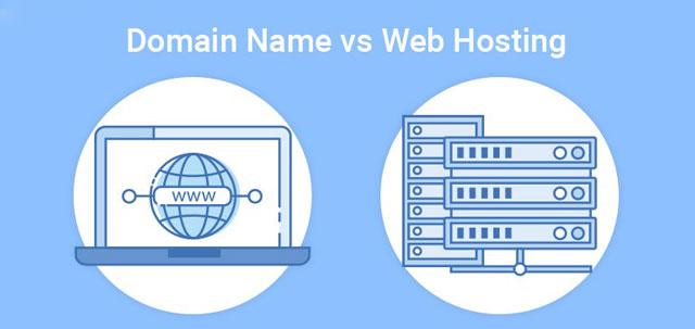 Sự khác biệt hosting vs domain